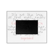 Gravity moves Imprinted Picture Frame