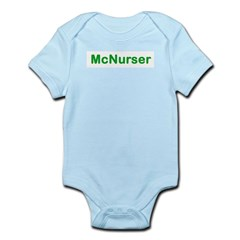 McNurser Infant Blue Bodysuit