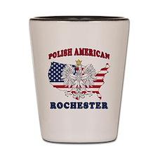 Rochester New York Polish Shot Glass