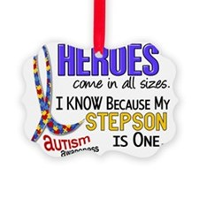 D Heroes All Sizes Autism Stepson Ornament