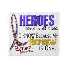 D Heroes All Sizes Autism Nephew Throw Blanket