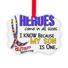 D Heroes All Sizes Autism Son Ornament