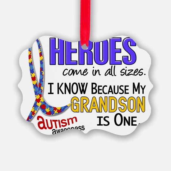 D Heroes All Sizes Autism Grandso Ornament