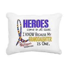 D Heroes All Sizes Autis Rectangular Canvas Pillow