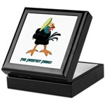 Athletic Chicken Keepsake Box