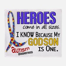 D Heroes All Sizes Autism Godson Throw Blanket