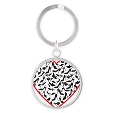 love shoes Round Keychain