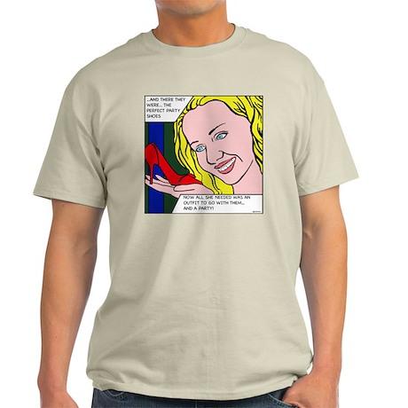 comic shoesFINAL Light T-Shirt