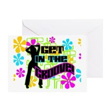 MOUSEPAD-GET-IN-THE-GROOVE Greeting Card