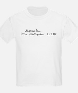 Soon to be....               Kids T-Shirt
