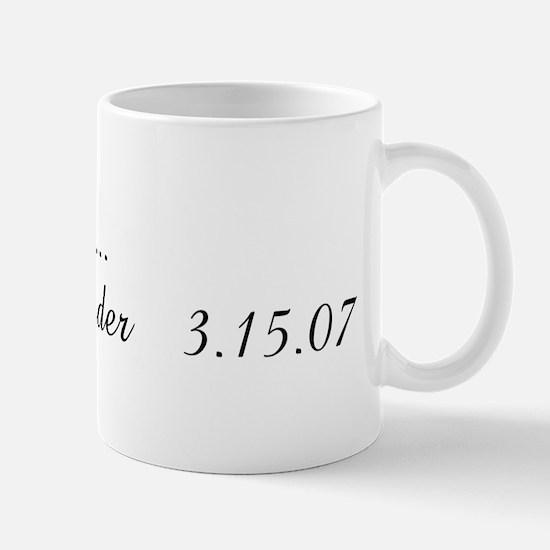 Soon to be....               Mug