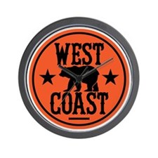 westcoast01 Wall Clock