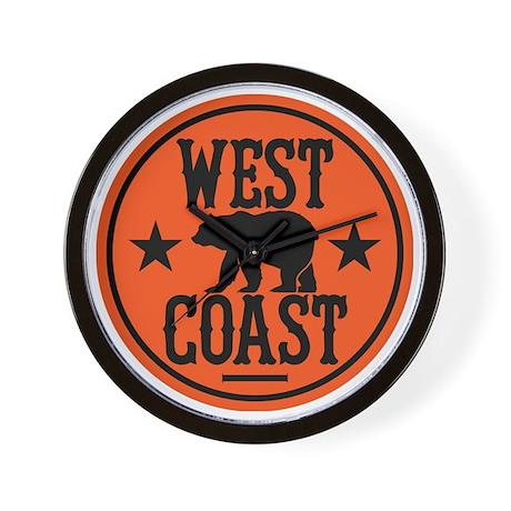 westcoast01 Wall Clock