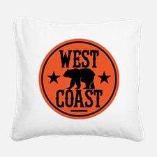 westcoast01 Square Canvas Pillow