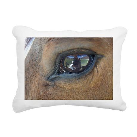 March-14-2012 of Goats a Rectangular Canvas Pillow