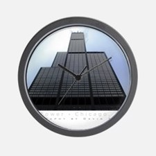 16x20_poster_Willis Tower Wall Clock