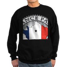 France Paris LDS Mission Flag Cu Sweatshirt