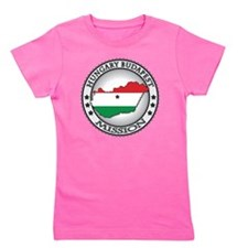 Hungary Budapest LDS Mission Flag Cutou Girl's Tee