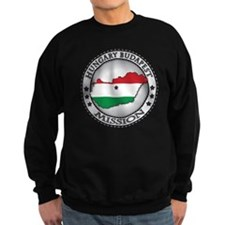 Hungary Budapest LDS Mission Fla Sweatshirt