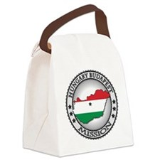 Hungary Budapest LDS Mission Flag Canvas Lunch Bag