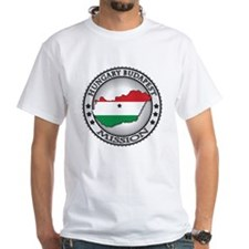 Hungary Budapest LDS Mission Flag Shirt