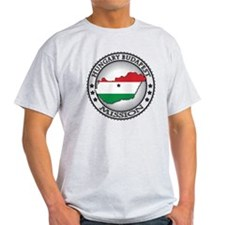 Hungary Budapest LDS Mission Flag Cu T-Shirt