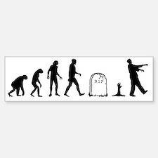 zombie evolution Car Car Sticker