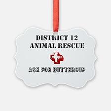 District 12 Animal Rescue Ornament