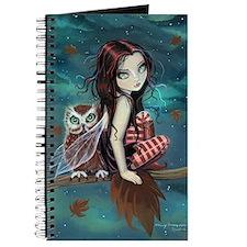 Autumn Owl and Fairy Journal