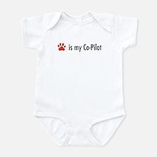 Dog is my Co-Pilot Infant Bodysuit
