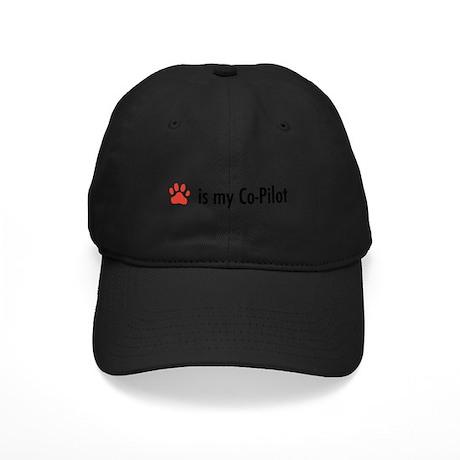 Dog is my Co-Pilot Black Cap