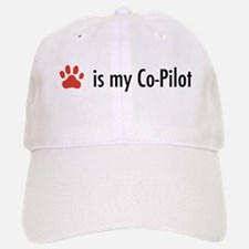 Dog is my Co-Pilot Baseball Baseball Cap