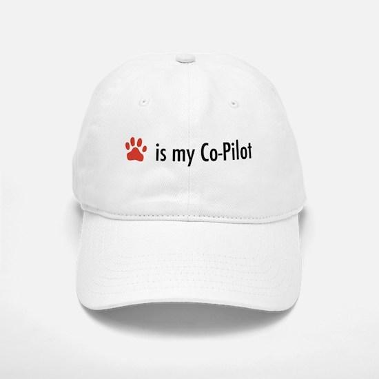 Dog is my Co-Pilot Baseball Baseball Cap