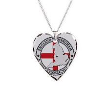 England Birmingham LDS Missio Necklace Heart Charm
