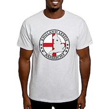 England Leeds LDS Mission Flag Cutou T-Shirt