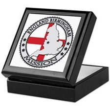 England Birmingham LDS Mission Flag C Keepsake Box
