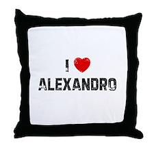 I * Alexandro Throw Pillow