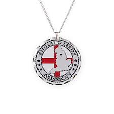 England Leeds LDS Mission Fl Necklace