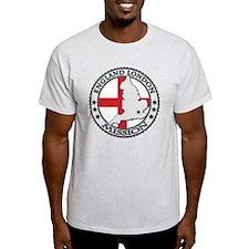 England London LDS Mission Flag Cuto T-Shirt