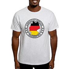 Germany Berlin LDS Mission Flag Cuto T-Shirt