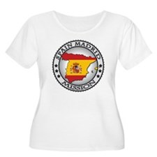 Spain Madrid  T-Shirt