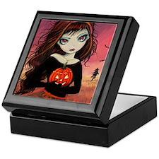 Autumn Fire Keepsake Box