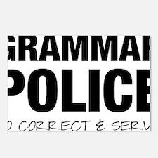 Grammar Police Postcards (Package of 8)
