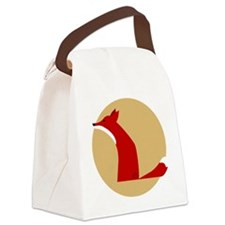 fox Canvas Lunch Bag