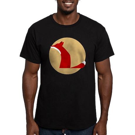 fox Men's Fitted T-Shirt (dark)