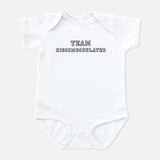 Team DISCOMBOBULATED Infant Bodysuit