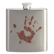 Bloody Handprint Right Flask
