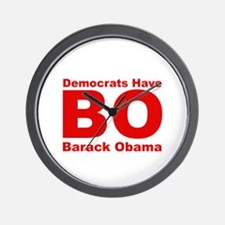 Democrats Have BO Wall Clock