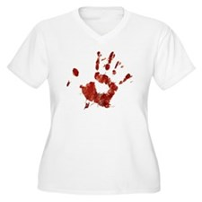 Bloody Handprint  T-Shirt