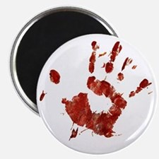 Bloody Handprint Right Magnet